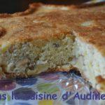 Ayda's apple cake – Gâteau aux pommes et aux deux noix sans beurre