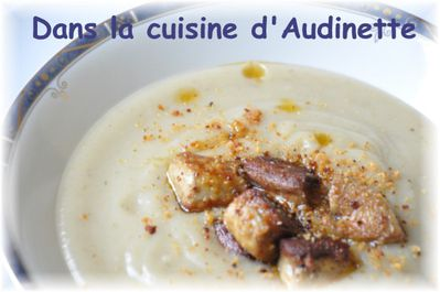 veloute topinambour