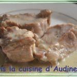 Blanquette verte : blanquette de veau au cresson