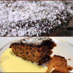 Moelleux chocolat noix de coco et sa crème anglaise