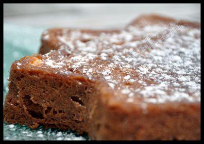 brownies micro ondes