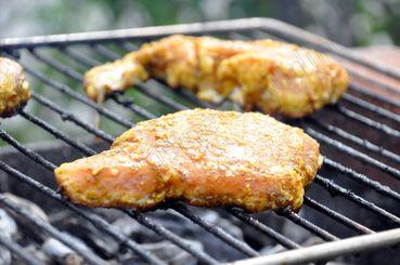 côtes de porc barbecue
