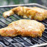 Côtes de porc épicées au barbecue