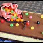 Gâteau 2 choco et sa déco «sac de billes»