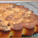 Gâteau pommes coco et amandes