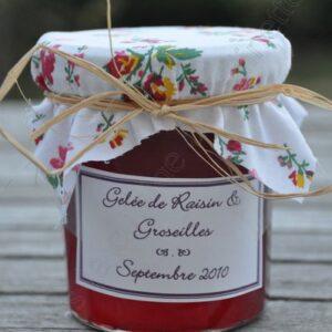 Gelée de raisin et groseilles