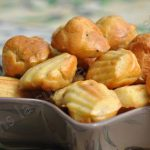 Madeleines poulet, menthe et moutarde