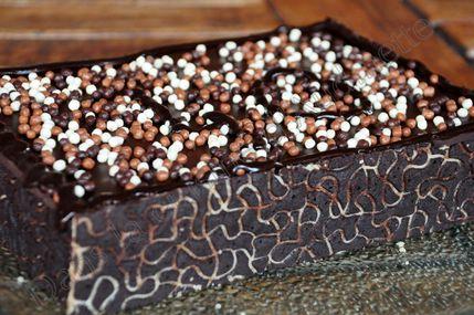 gateau chocolat abricot