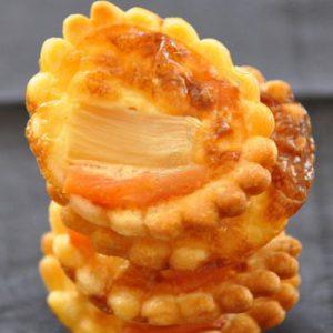 Tartelettes apéro au saumon et asperges