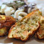 Flans Dukan au saumon fumé et haricots verts