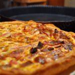 Quiche au veau, bacon et gorgonzola
