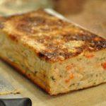 Cake au saumon Dukan pour bento au boulot
