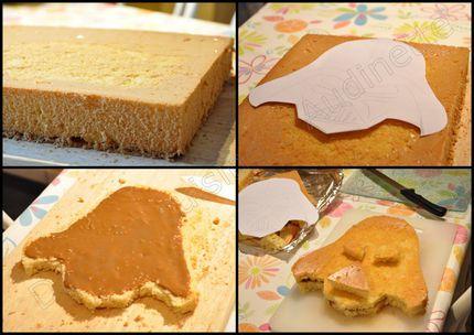 gâteau Dark vador 1