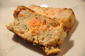 tranche cake saumon dukan