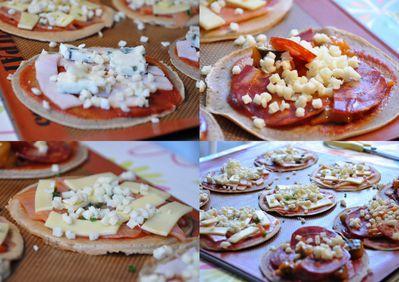 galette mini pizzas 1