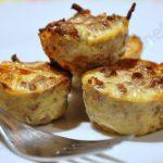 Muffins salés Dukan au steak haché