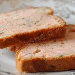 Cake au tarama et au saumon fumé