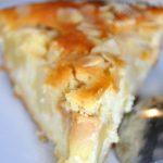 Gâteau-tarte aux pommes et au miel