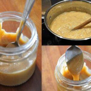 La vraie confiture de lait à la vanille, celle qui cuit lonnnnnngtemps