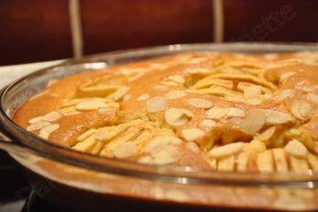 tarte pommes et miel