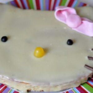 Gâteau Hello Kitty aux deux vanilles