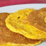 Pancake à la courgette ou à la courge (compatible régime Dukan)