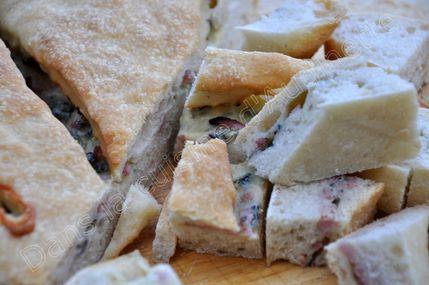 focaccia lardon gorgonzola 2