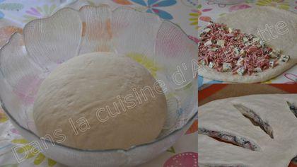focaccia lardon gorgonzola