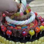 Gâteau de bonbons : mode d'emploi
