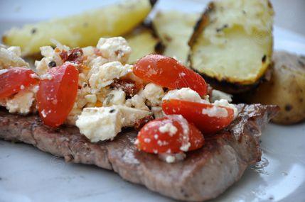 steak a la grec