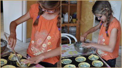 tartelette épinard from frais 1
