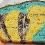 «A bee in the sky» bread ou comment l'art abstrait rencontre le pain brioché