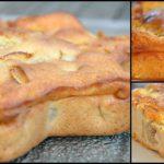 Gâteau simplissime pommes, banane, coco et rhum
