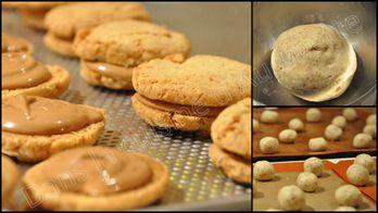 macaron cacahuete pate praliné 1