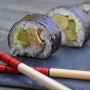 Mes premiers Futo Maki Sushis