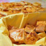 Bouchées apéro à la bressaola et au gorgonzolla