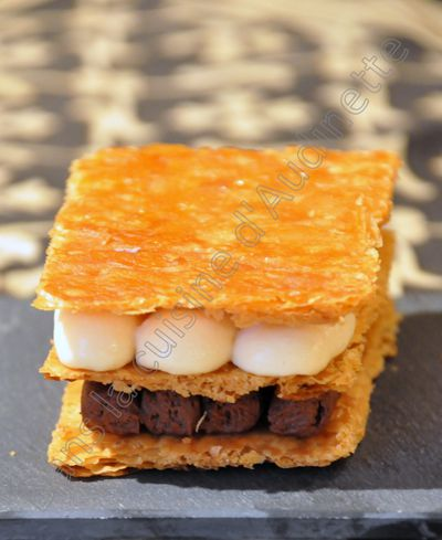mille feuille passion choco 2