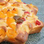 Gâteau aux fruits au sirop (Gâteau à la salade de fruits)