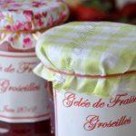 Gelée de fraises et groseilles