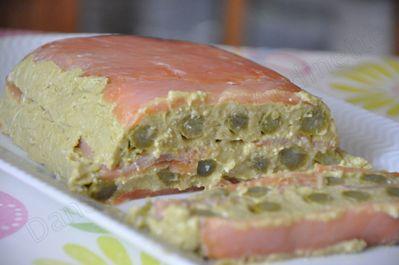 terrine saumon asperge light