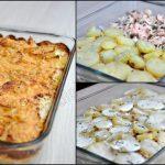 Gratin de pommes de terre au saumon frais