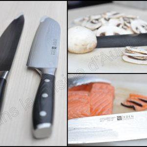 Rôti de veau au chorizo et test de couteaux