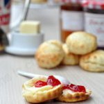English scones au lait ribot sans oeuf