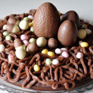 Easter Chocolate Cake – Gâteau de Pâques