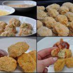 Nuggets de poulet maison au persil et aux oignons