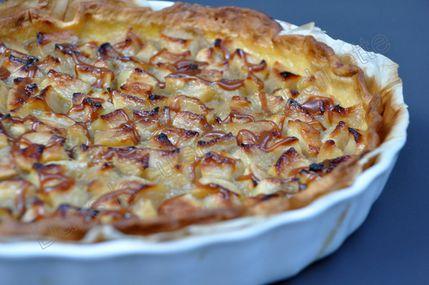 tarte pommes salidou