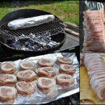 Roulé de volaille au barbecue
