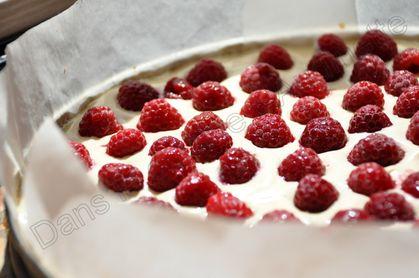 tarte framboises mascarpone 1