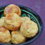 Bouchées apéro emmental curry