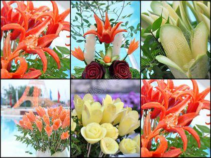 fleurs de légumes